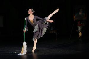 Image of Cinderella played by Bridget at Valentina's School of Dance