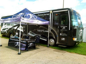 Canopy/Tent, table cloth, swag, promotional give away items, RV Wrap, and branding Graphic Design by Michigan Video and Photography