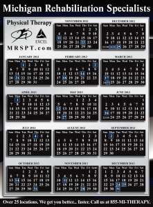 Calendar Graphic Design by Michigan Video and Photography